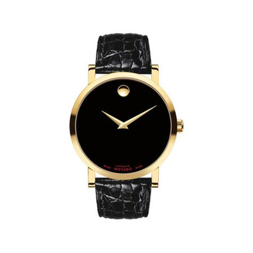22a1c2784b1687 Movado Museum Classic Gold. Call For Price. Men's Museum Classic Watch, 40  Mm Yellow Gold Pvd-Finished Stainless Steel Case, Black Museum Dial ...